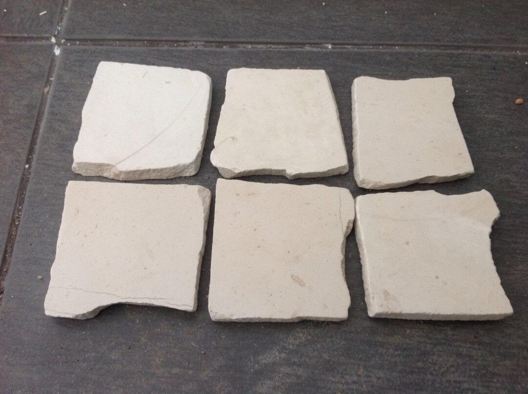 pedra de calçada serrada com 1cm