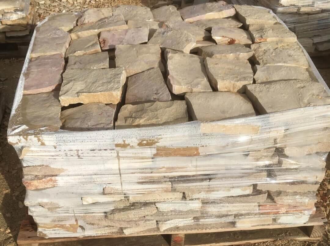 pedra para forrar muros